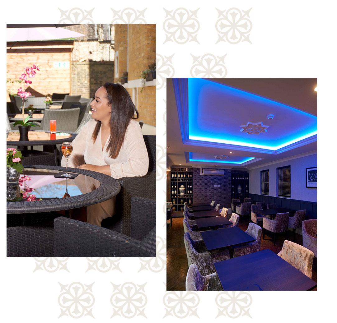 Lansbury bar and terrace